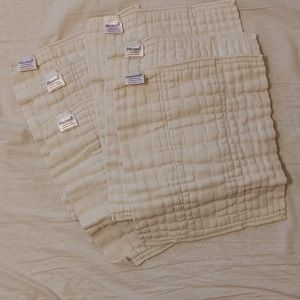 Pre-fold newborn cloth diapers and snappi's